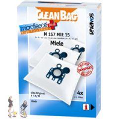 cleanbag m 157 mie 15 inhalt 4 st ck microfleece 1 filter. Black Bedroom Furniture Sets. Home Design Ideas