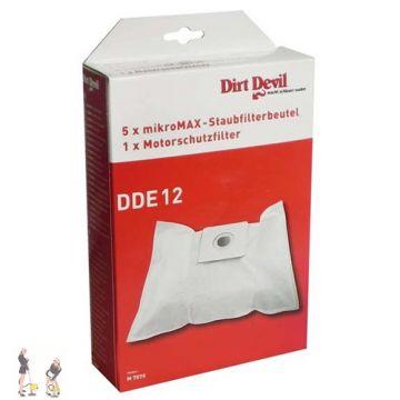 dirt devil staubsaugerbeutel vito m2012 2 m7075. Black Bedroom Furniture Sets. Home Design Ideas